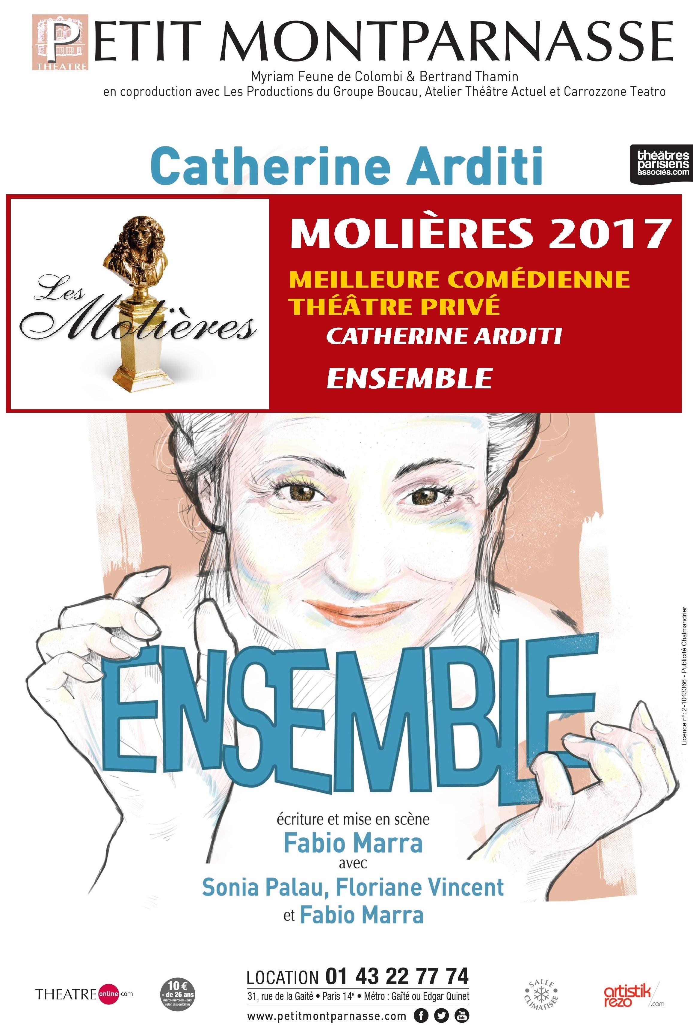 Affiche Ensemble Molière Catherine