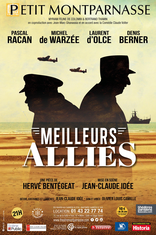 Affiche Meilleurs Alliés Petit Montparnasse