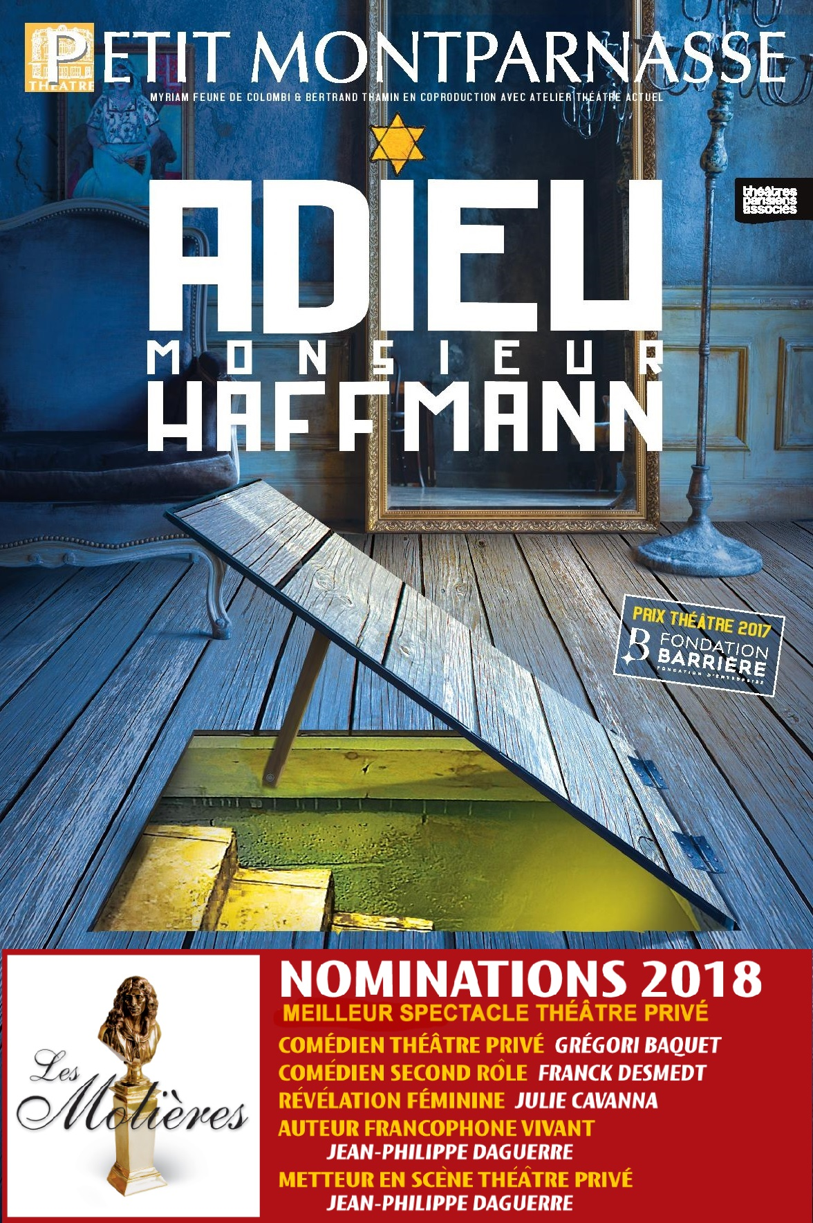 Affiche Adieu Haffmann Molieres