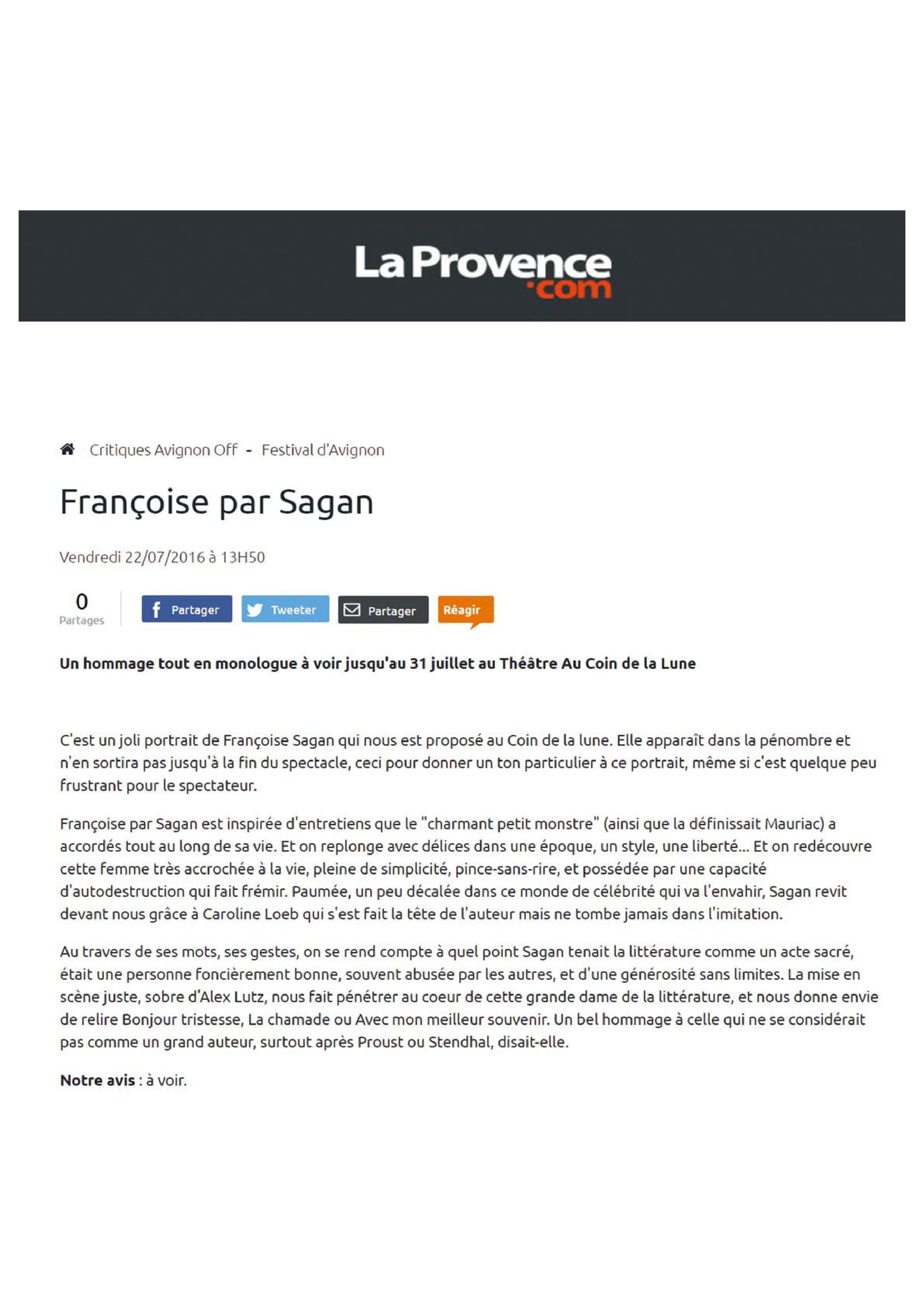 La Provencecom