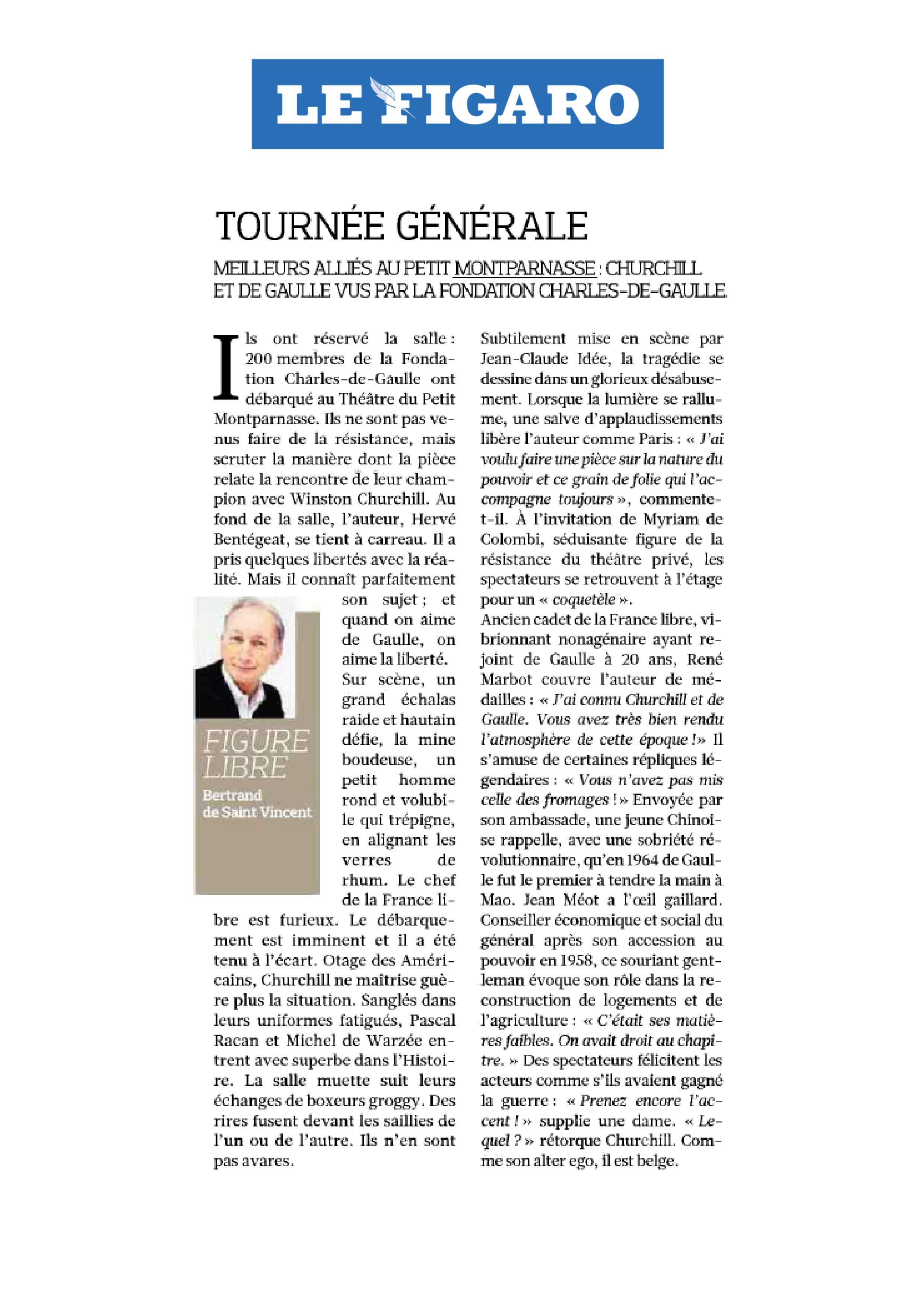 Le Figaro fondation de gaulle