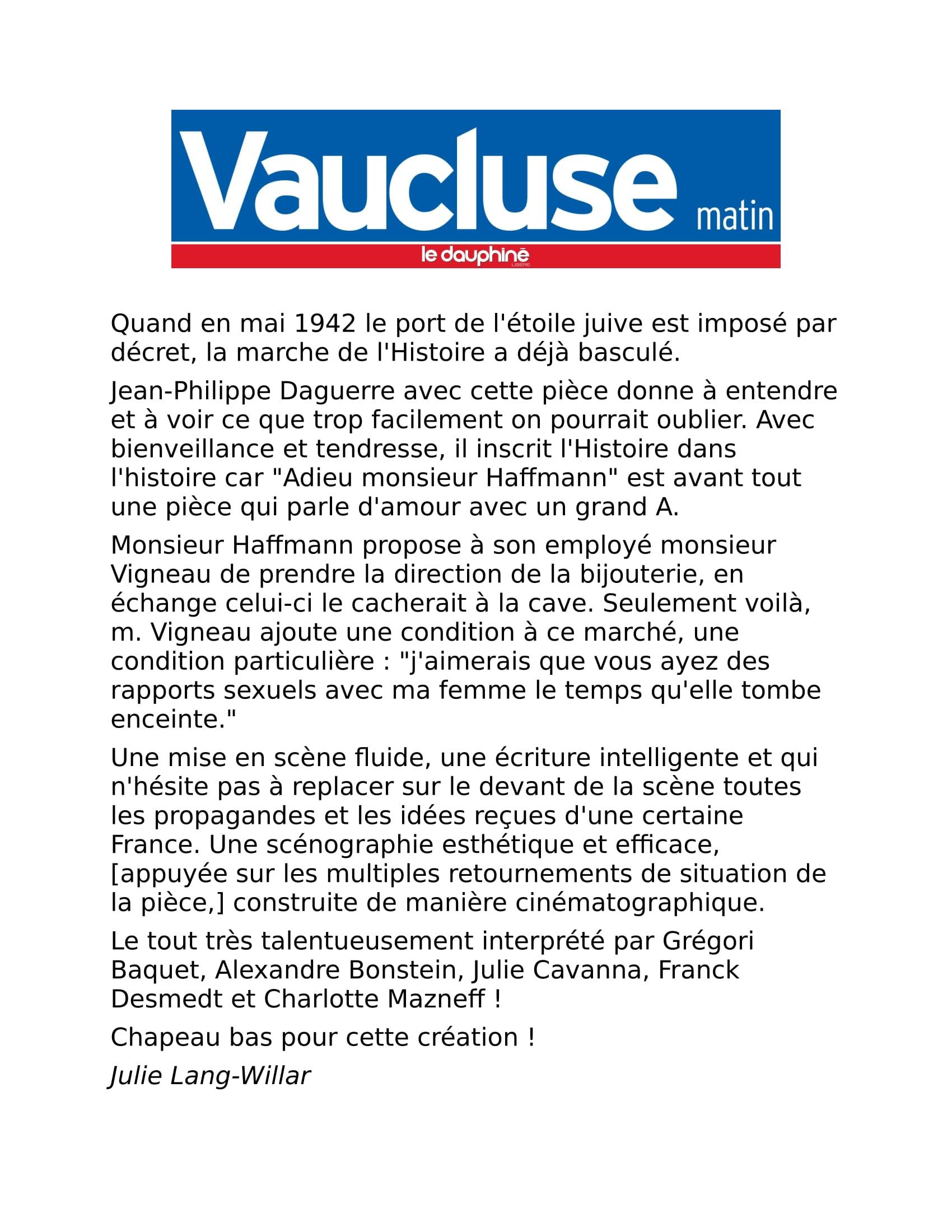 Avignon2016-VaucluseMatin-AdieuHaffmann-1