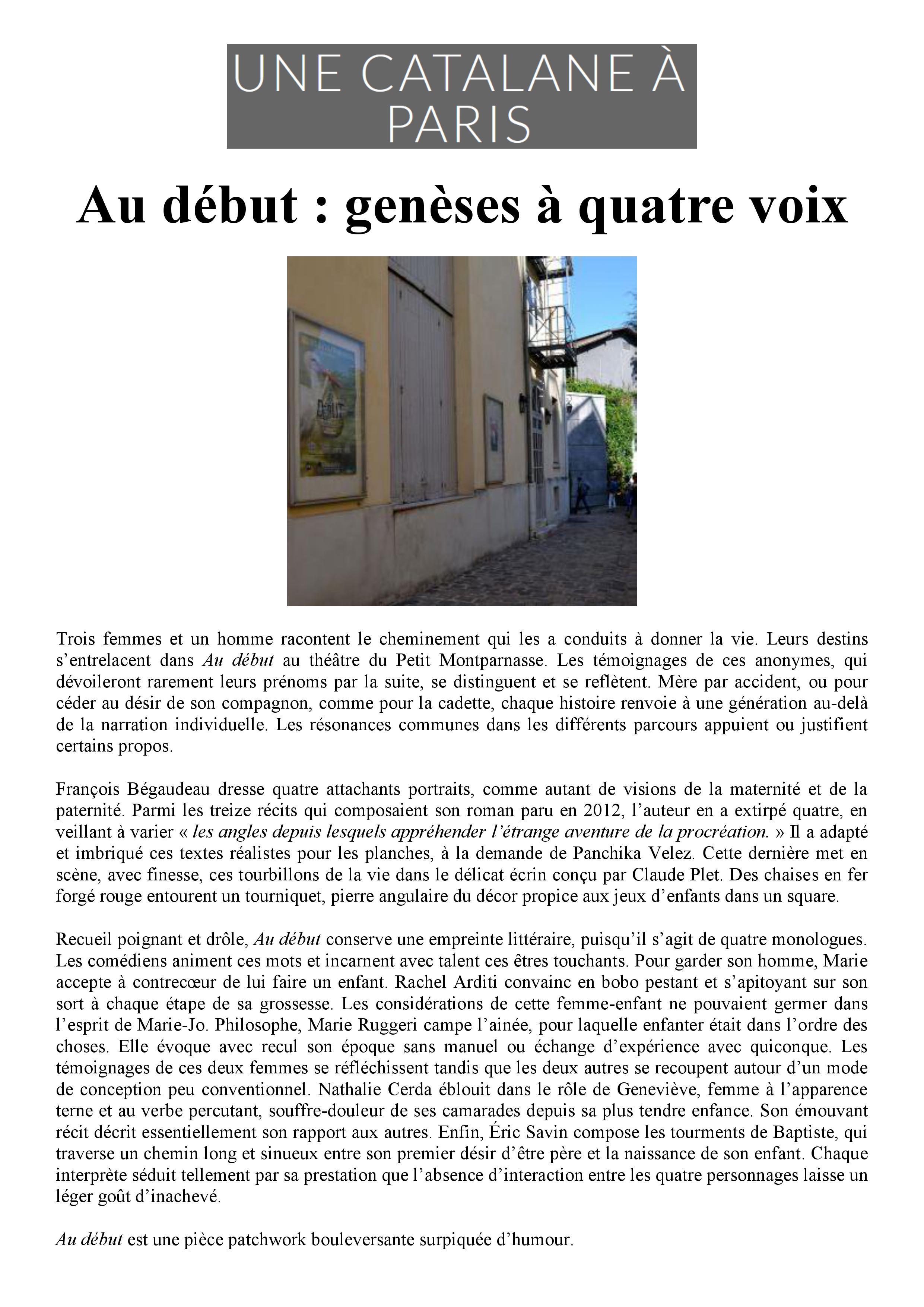Une catane à Paris