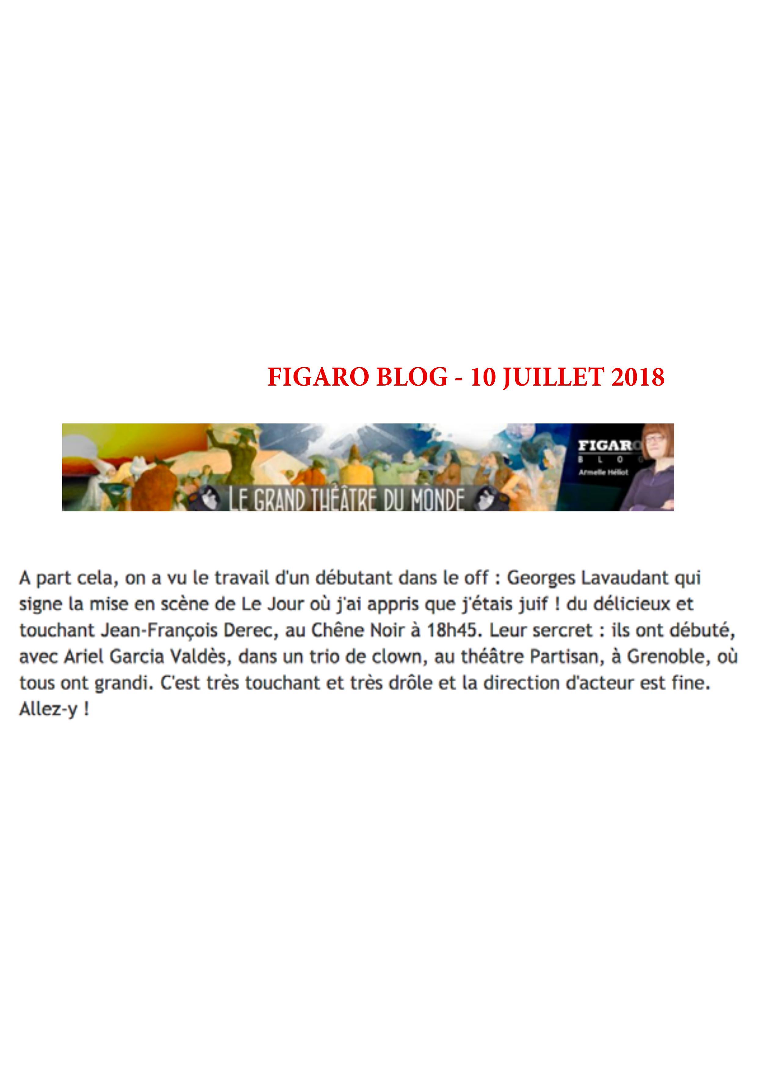 Figaro blog