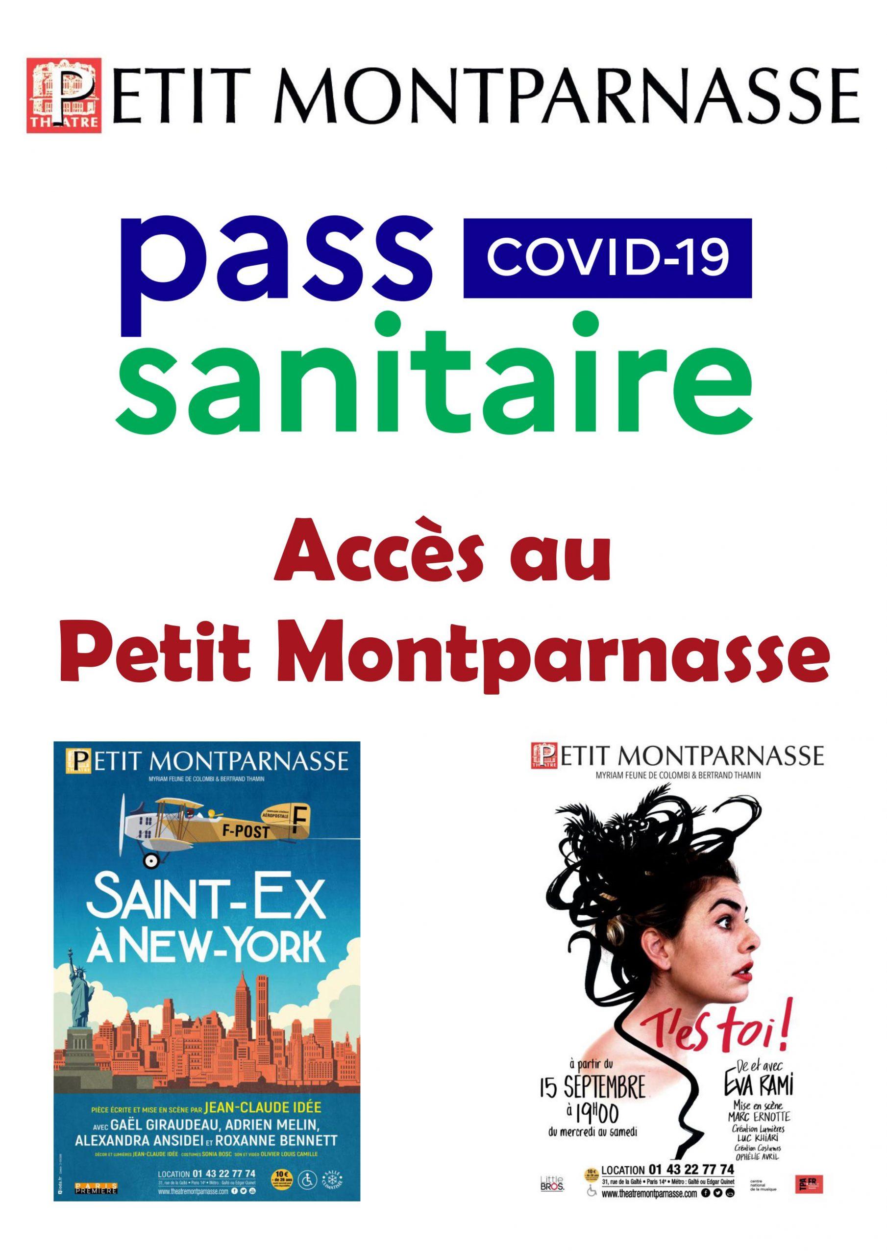 Affiche accès Pt Mtp pass sanitaire