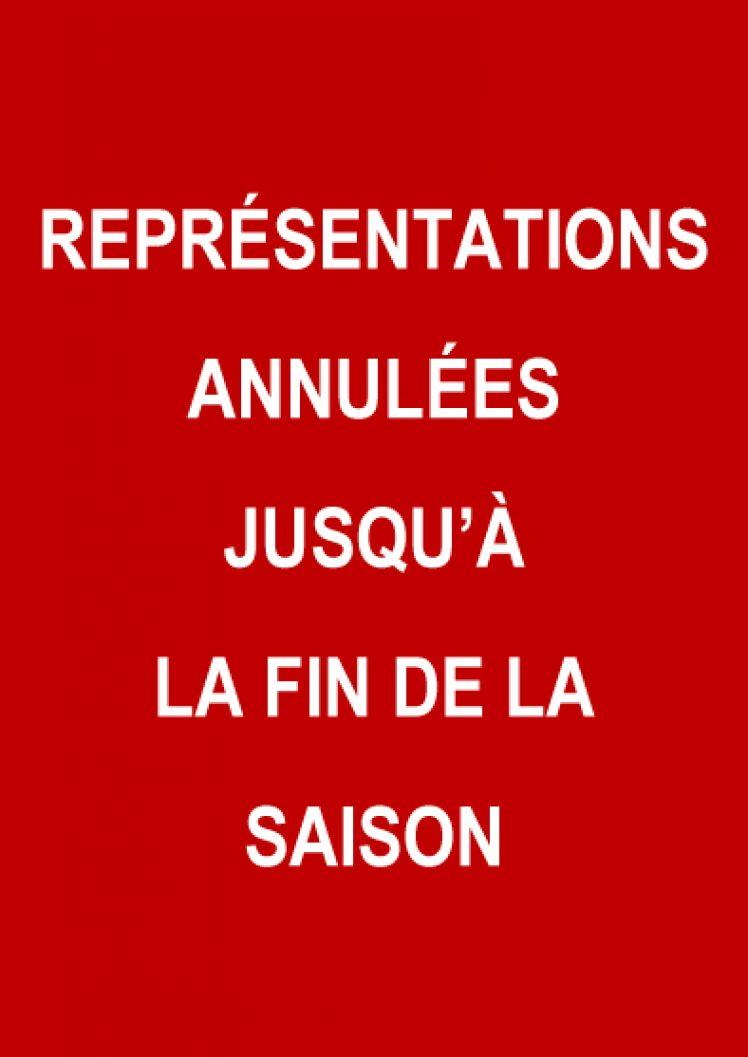 Représentations annulées