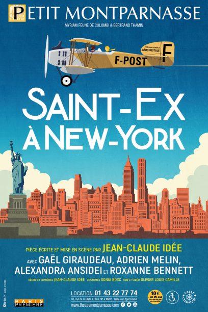 Saint-Ex à New-York
