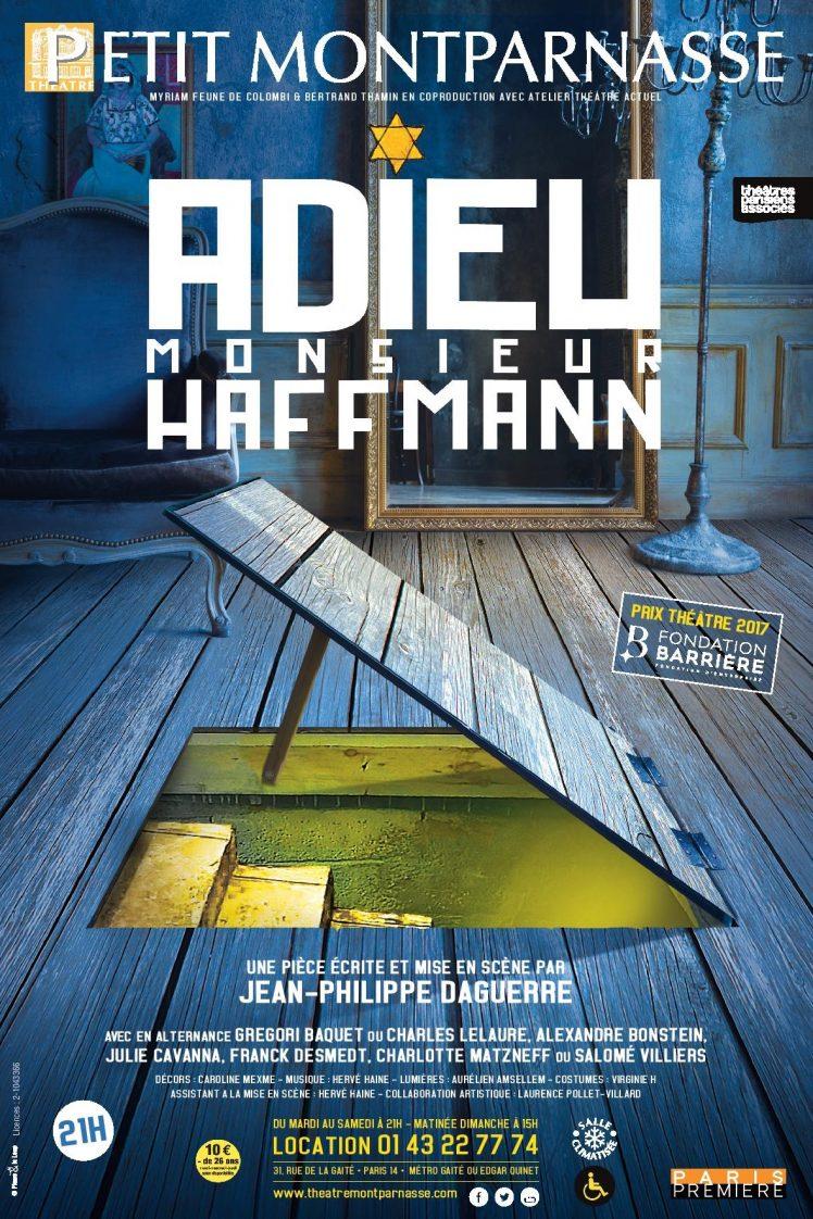 Affiche Adieu Haffmann sans traits de coupes