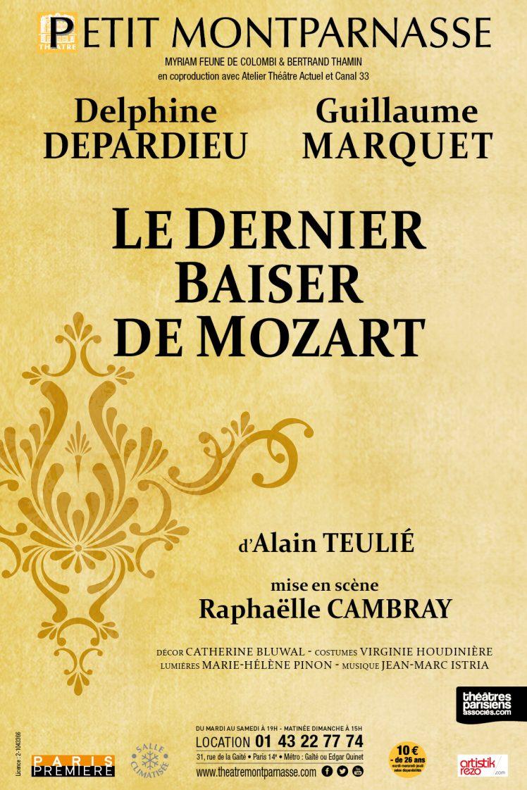 Affiche Le Dernier Baiser de Mozart