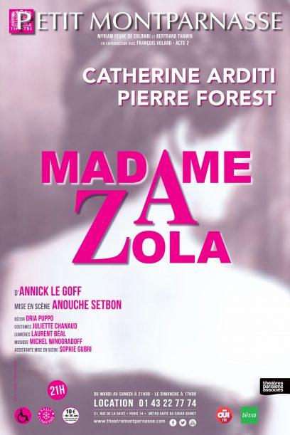 Affiche Madame Zola définitive
