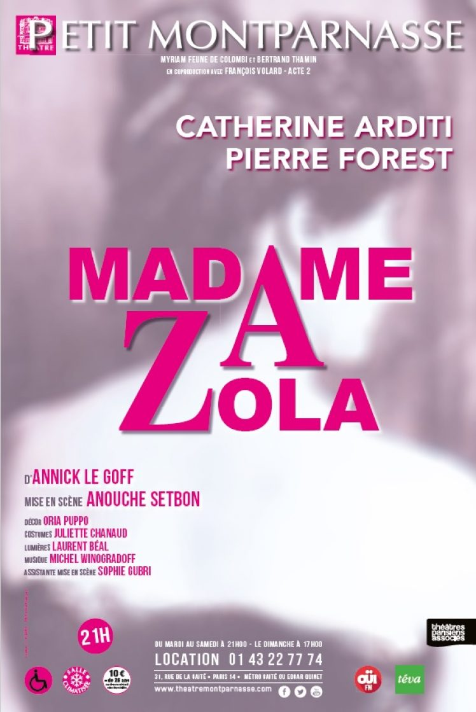 Affiche Madame Zola – web