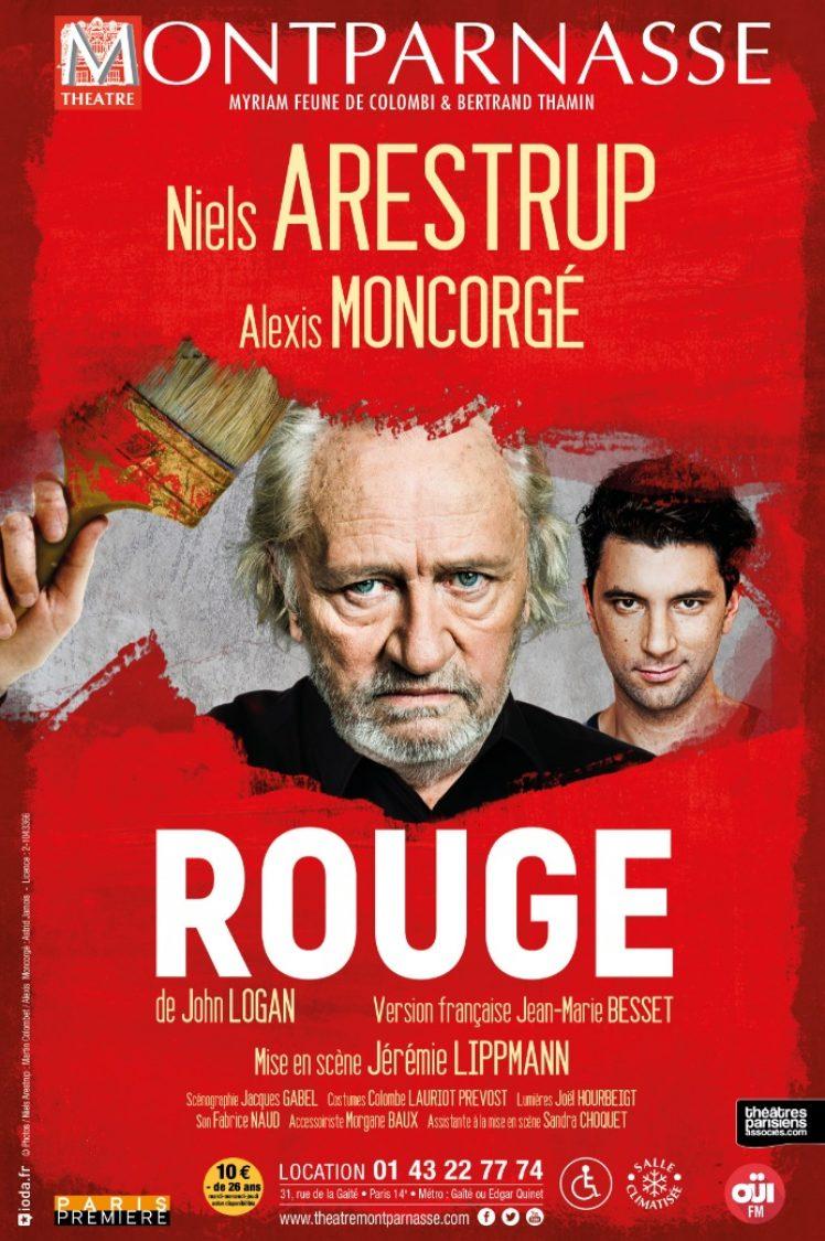 Affiche Rouge web