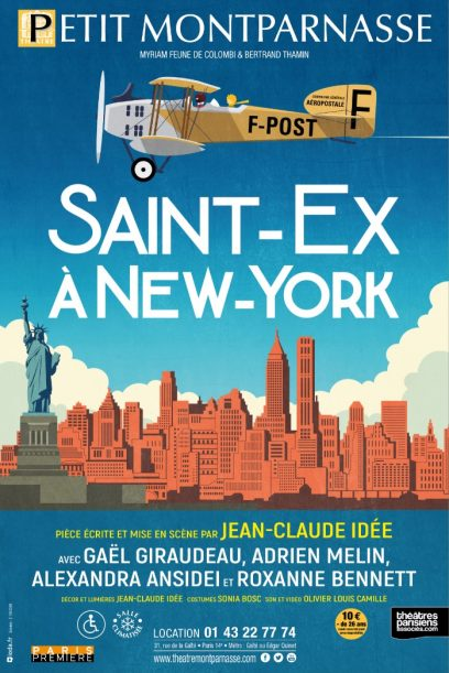 Saint-Ex à New-York