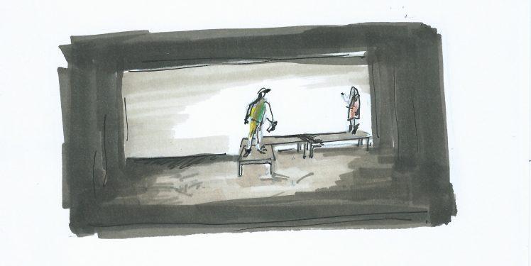 dessin recadré